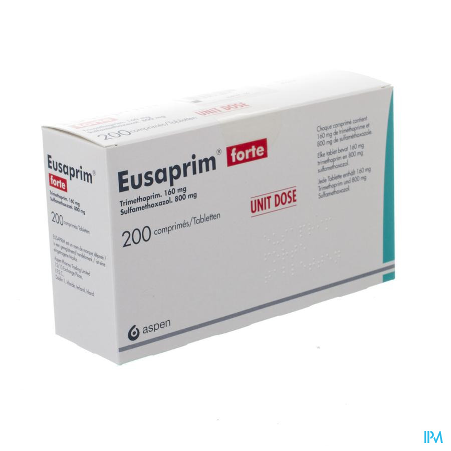Eusaprim Fort 200 Comp Unit Dose