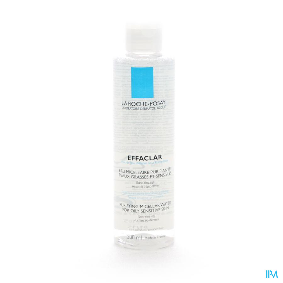 Lrp Effaclar Micellaire Water Zuiverend 200ml