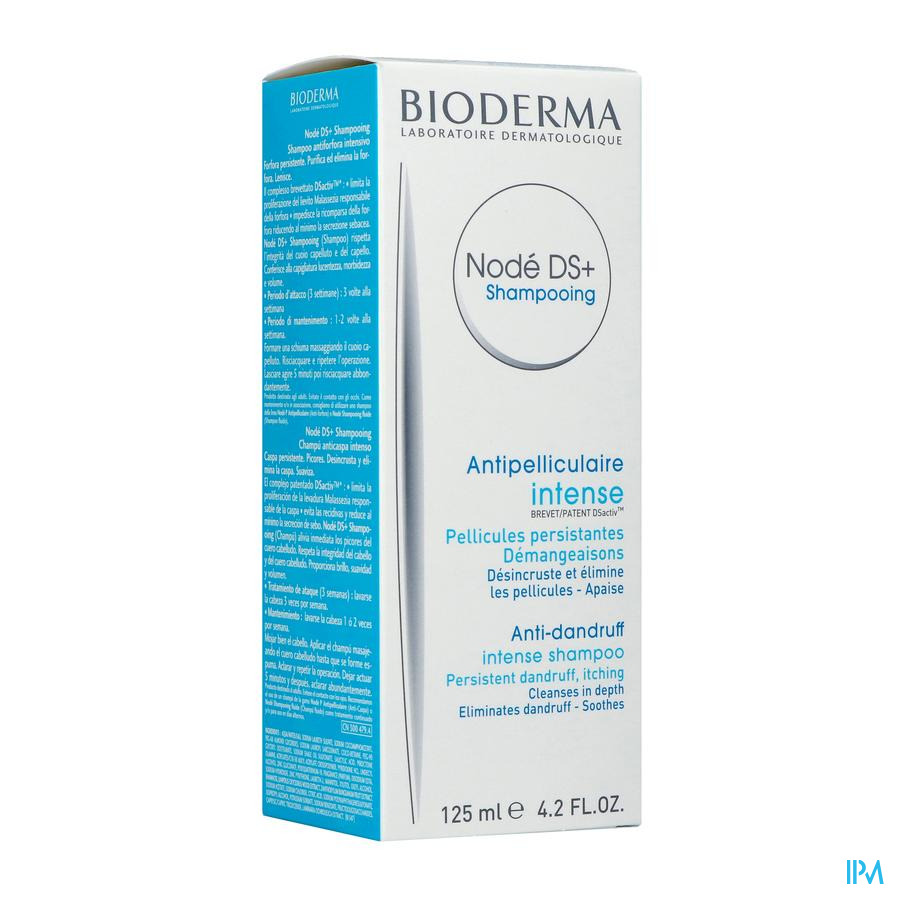 Bioderma Node Ds+ Shampoo Creme A/rec. Tube 125ml