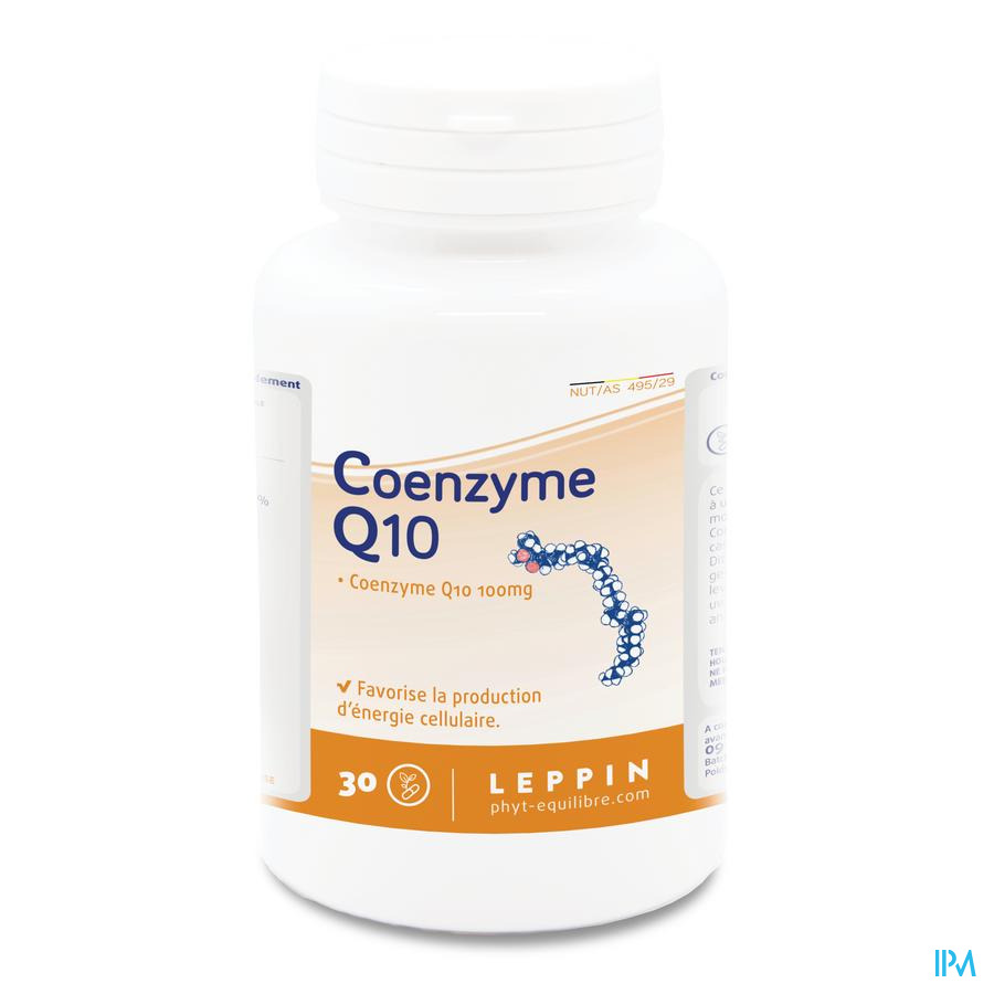 Leppin Coenzyme Q10 100mg Gel 30
