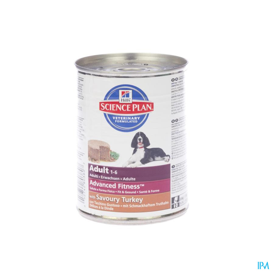 Hills Sc.plan Canine Adult Turkey 370g 8038u