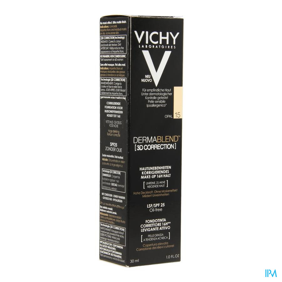 Vichy Dermablend 3d Correction 15 30ml