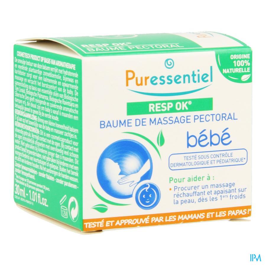 Puressentiel Respiratoire Baume Massage Bebe 30ml