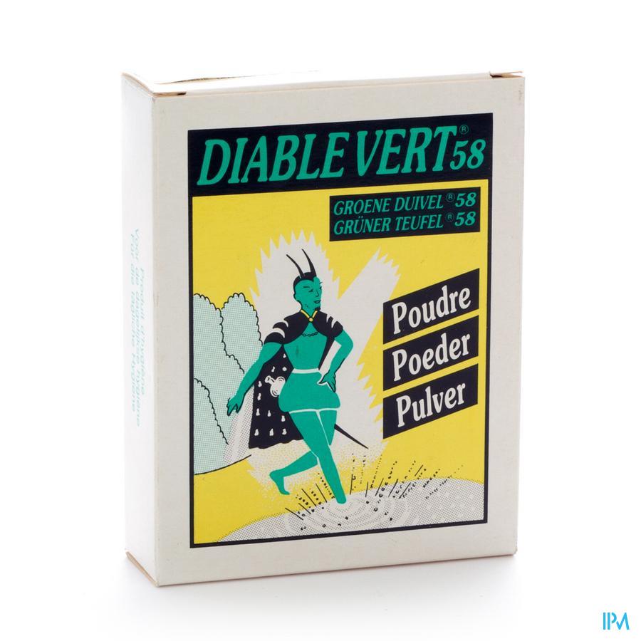 Diable Vert 58 Pdr Voeten
