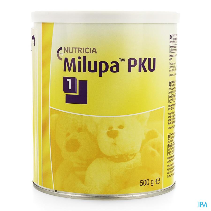 Pku1 Milupa Pdr 500g 0-12 Mois/mnd