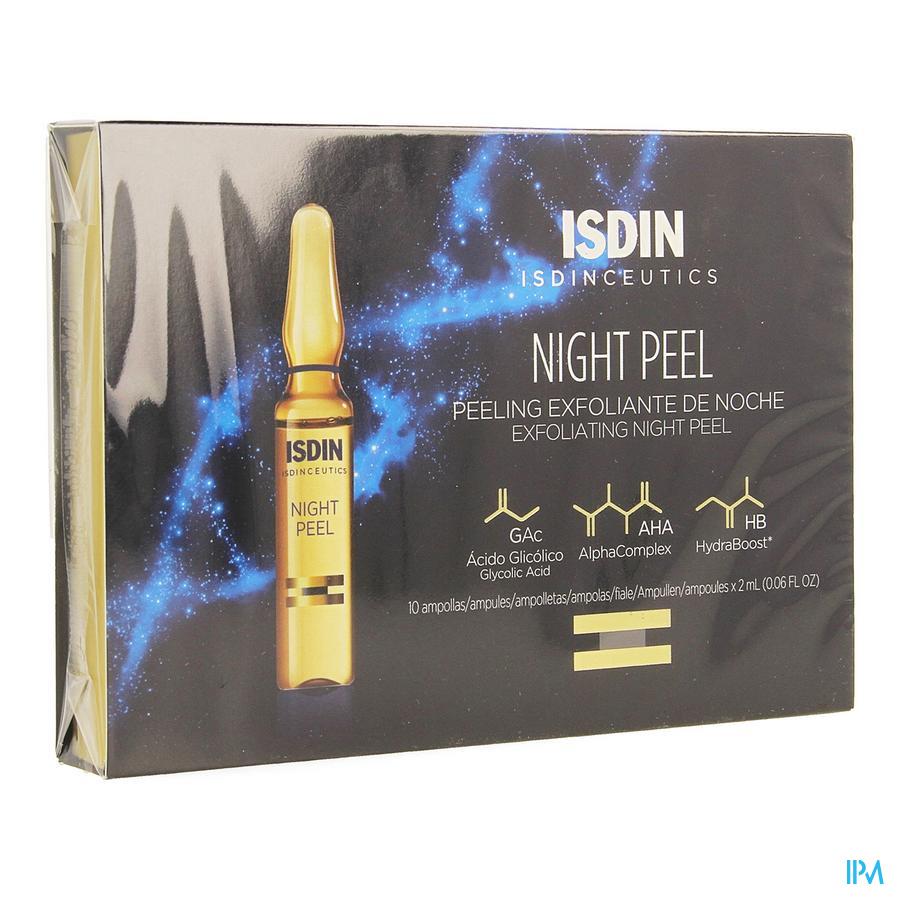 Isdinceutics Night Peel Amp 10x2ml