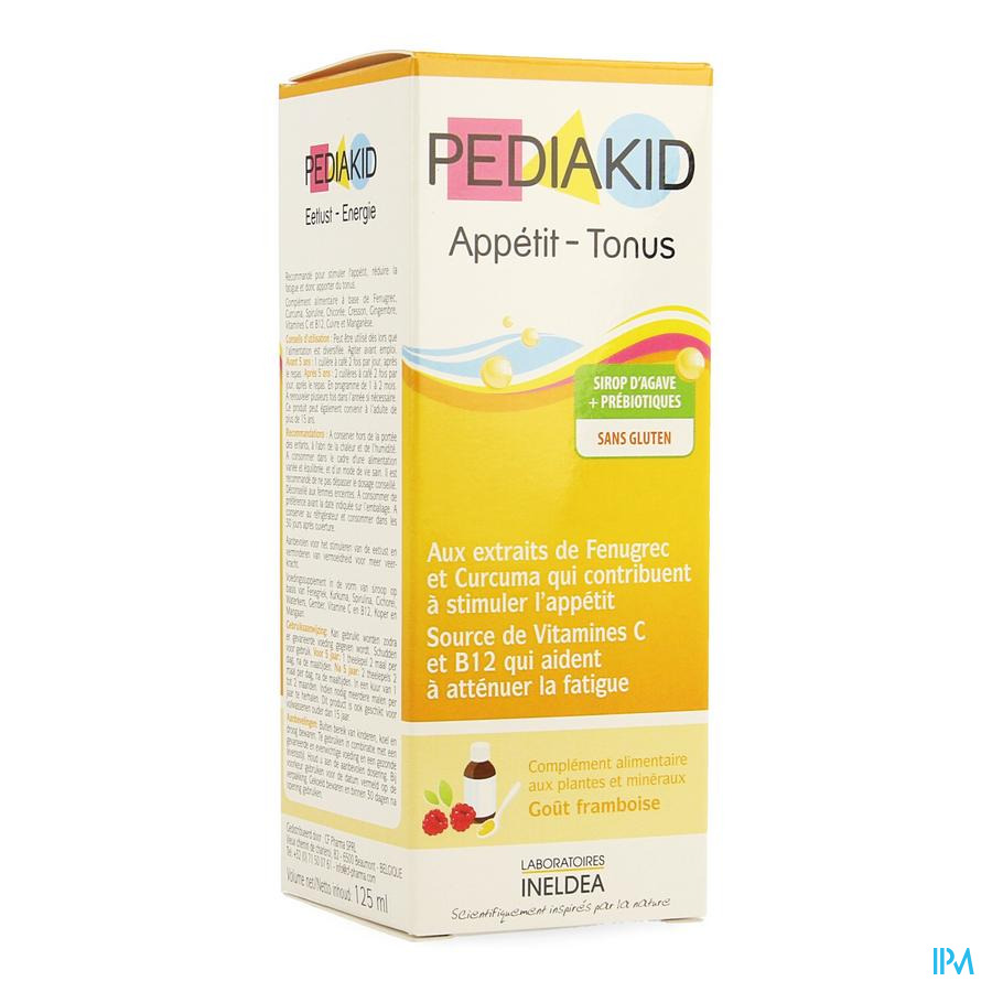 Pediakid Appetit Tonus Sol Buv Fl 125ml