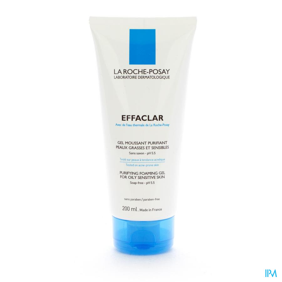 Lrp Effaclar Gel Moussant Purifiant 200ml