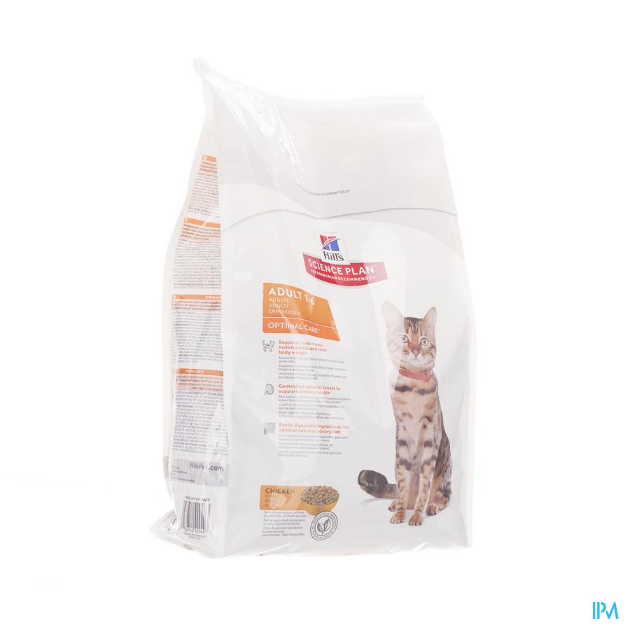 Hills Sc.plan Feline Adult Chicken 5kg 4294r