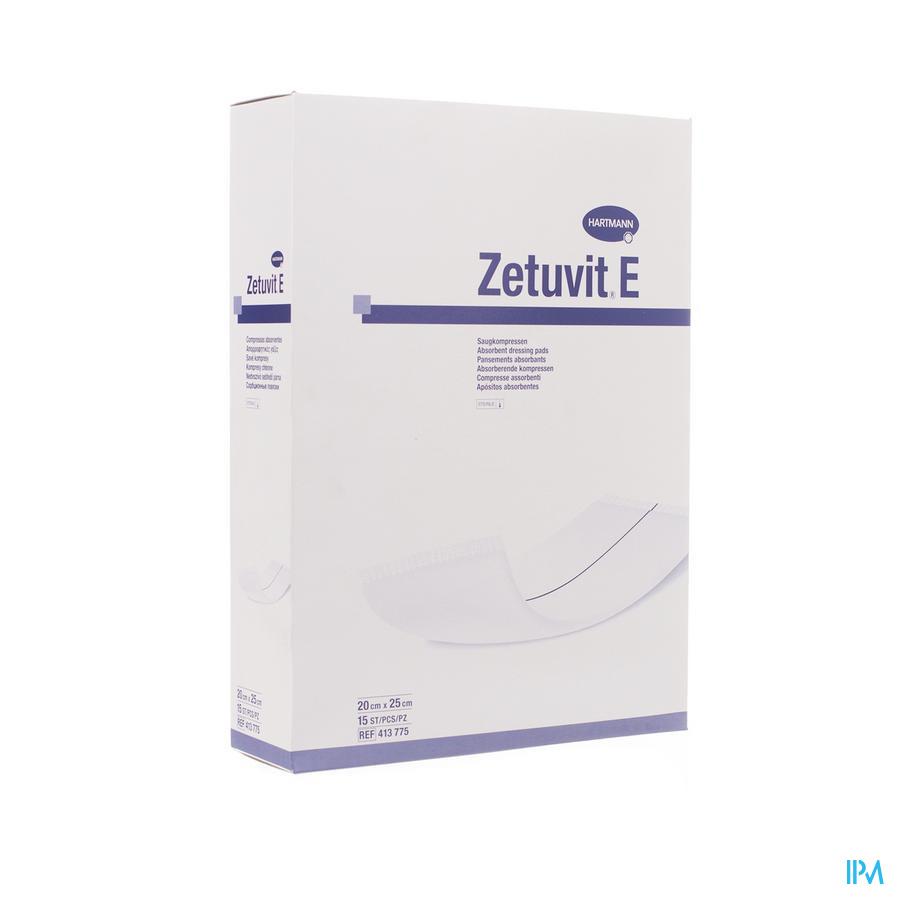 Zetuvit E Hartm Ster 20x25cm 15 4137752