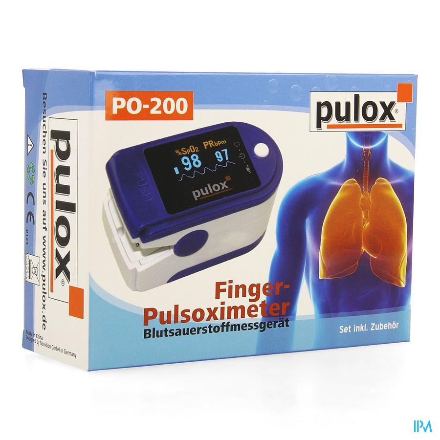 Pulox Po-200 Saturatiemeter