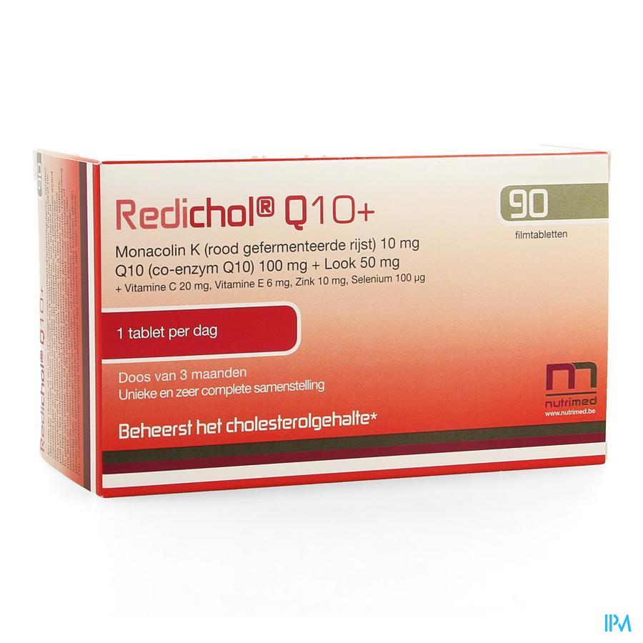 Redichol Q10+ Blister Tabl 90 Nf