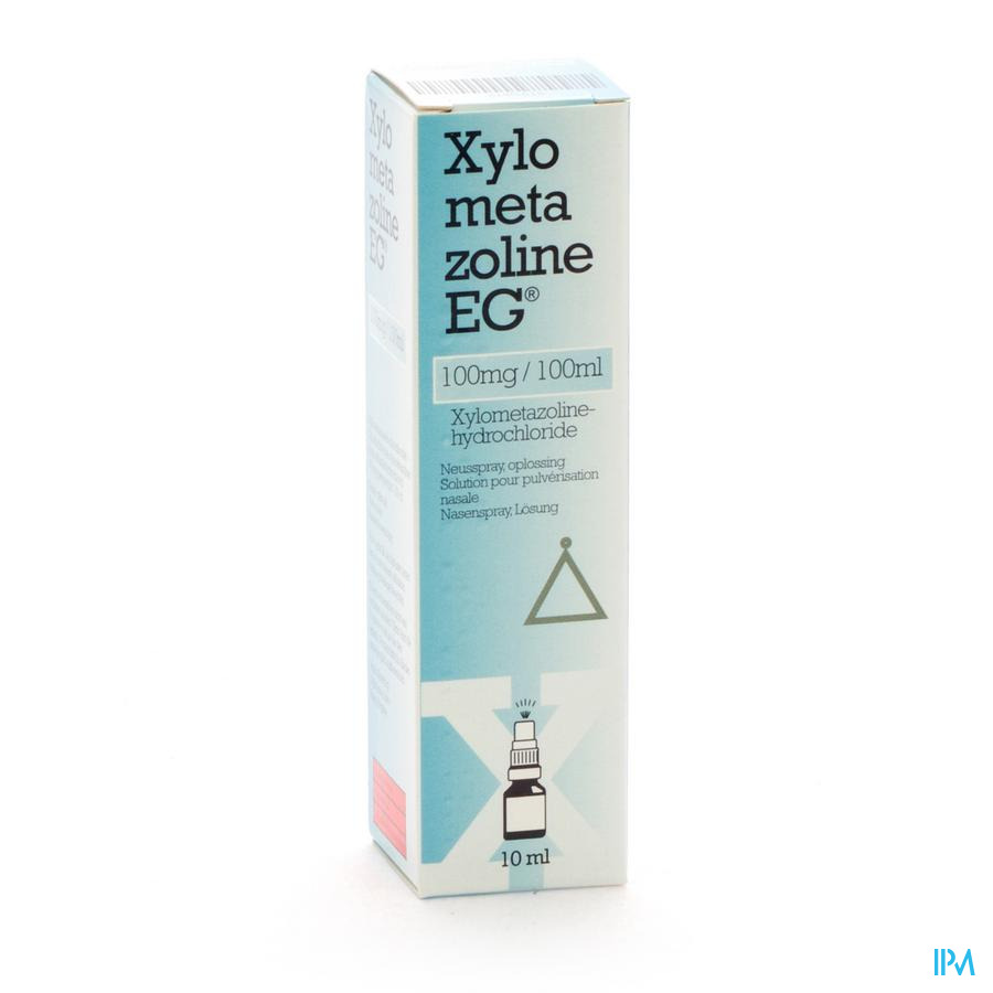 Xylometazoline Eg 100mg Spray Nasale 10ml