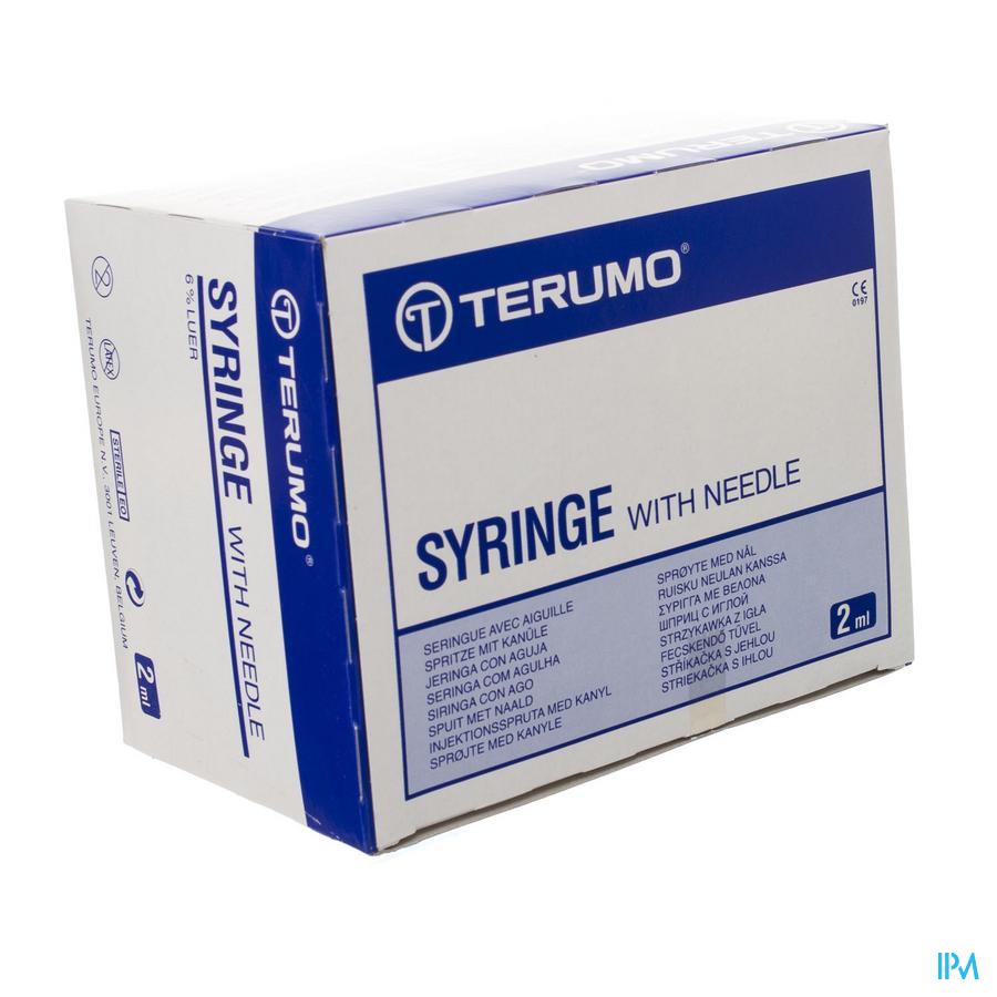 Terumo Spuit 2,5ml Met Naald 25g 5/5 100