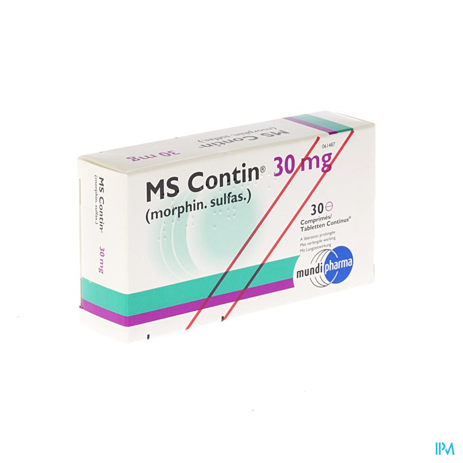 Ms Contin Comp 30x 30mg