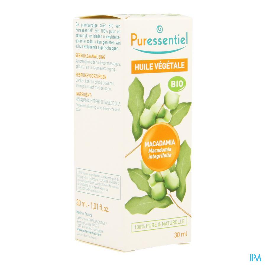 Puressentiel Huile Vegetal Bio Macadamia 30ml
