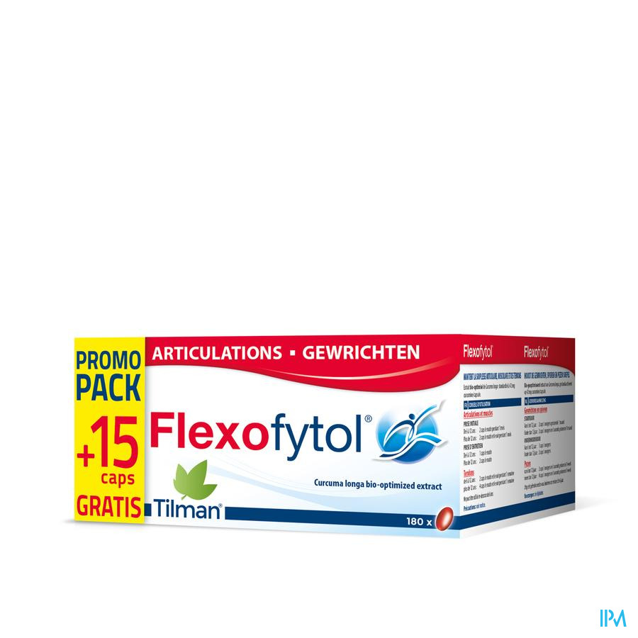Flexofytol Promopack Caps 180+15