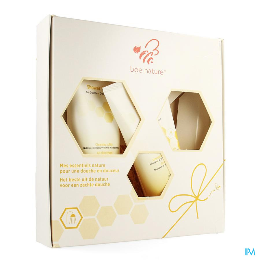 Bee Nature Giftbox Shampoo 200ml + Douchegel 250ml