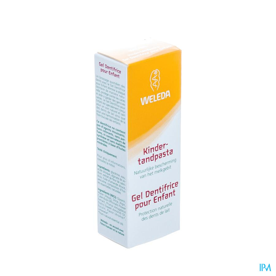 Weleda Tandpasta Gel Kind Nf Tube 50ml