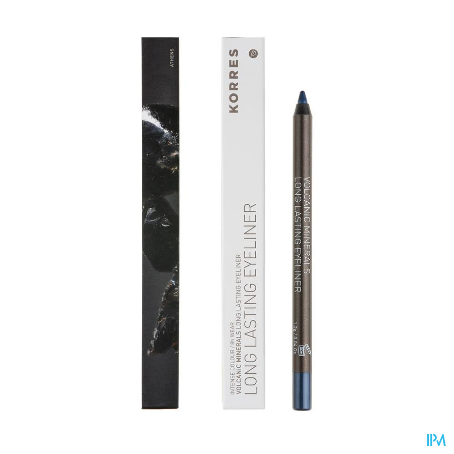 Korres Km Eye Pencil Volcanic Miner.08 Blue
