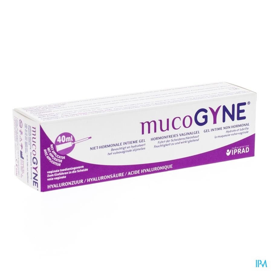 Mucogyne Gel Vaginal+applicateur Tube 40ml