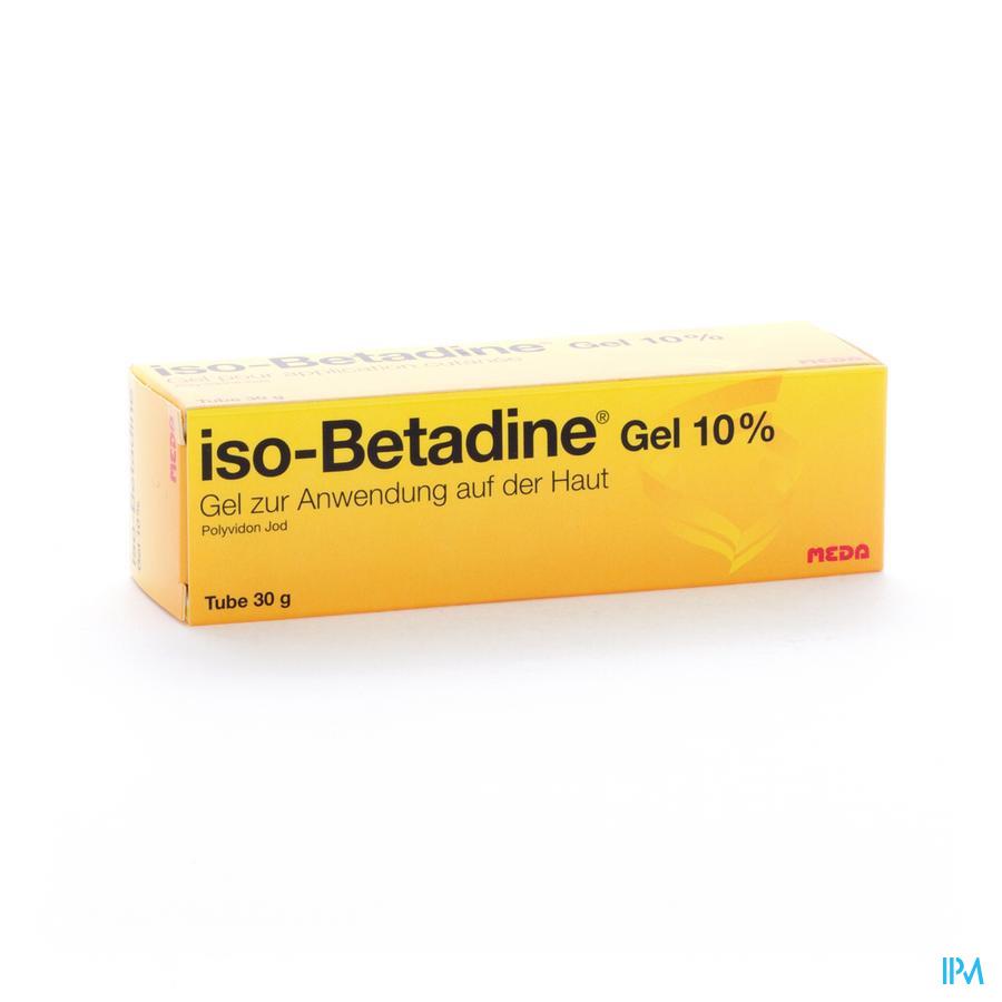 Iso Betadine Gel Tube 30 gr