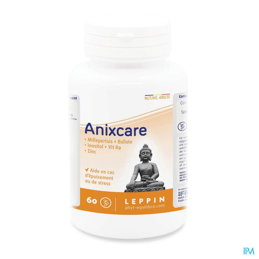Leppin Anixcare Leppin Pot Caps 60