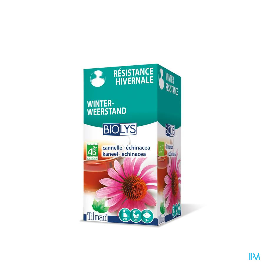 Biolys Cannelle-echinacea Tea-bags 20
