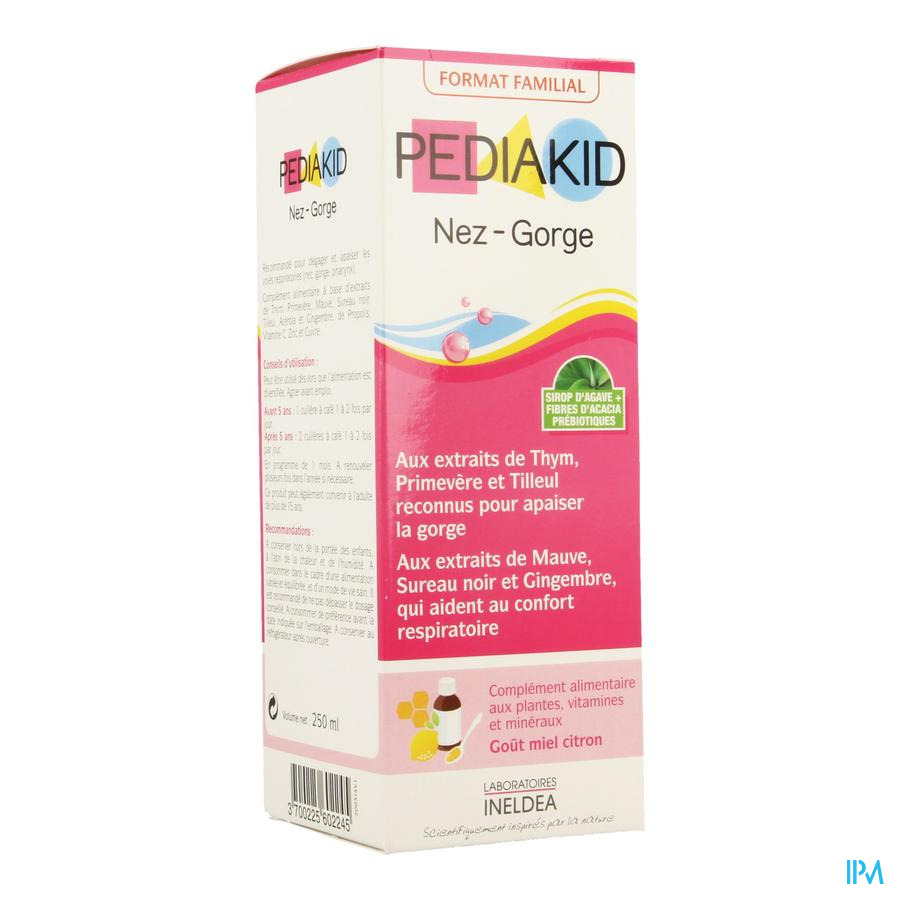 Pediakid Nez-gorge Sol Buva 250ml