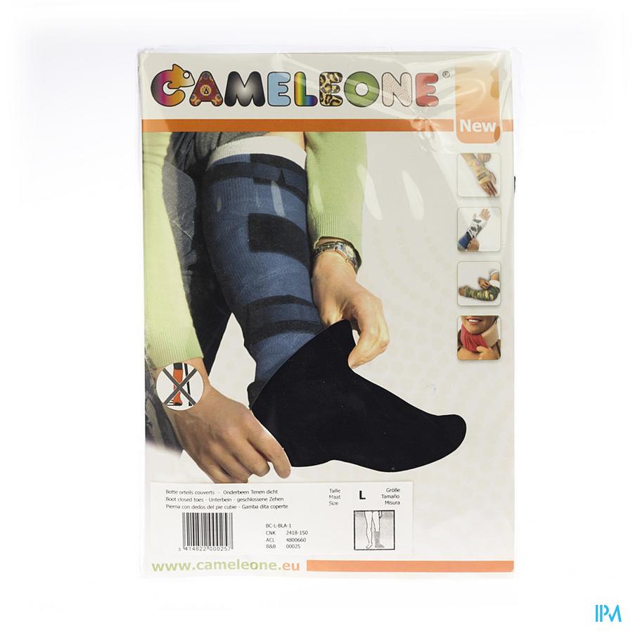 Cameleone Onderbeen Gesloten Teen Zwart l 1
