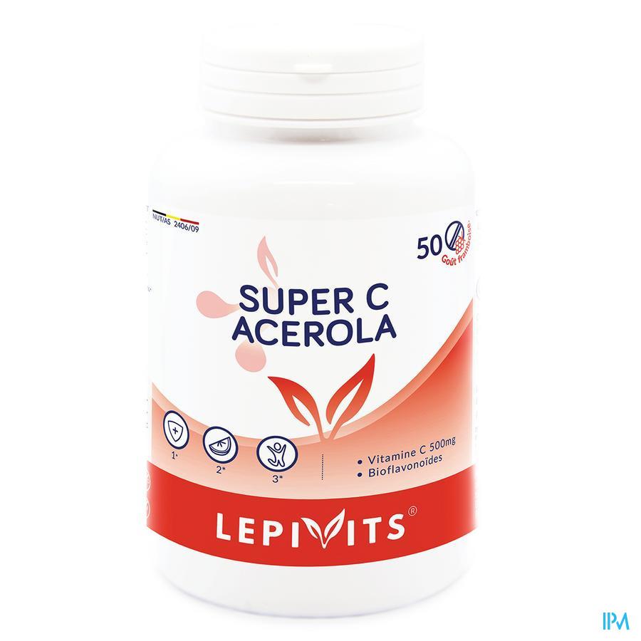 Lepivits Acerola 500mg Tabl 50