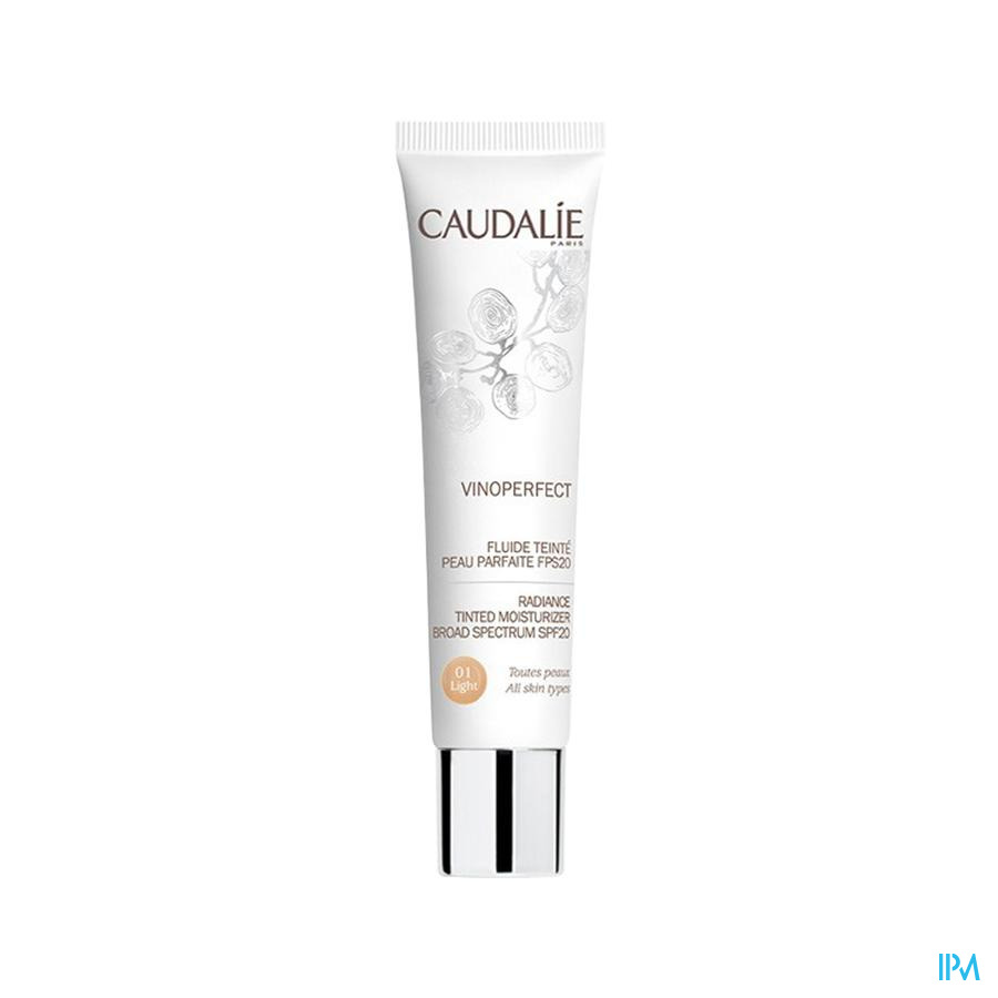 Caudalie Vinoperfect Vl Cr Getint Ip20 Light 40ml