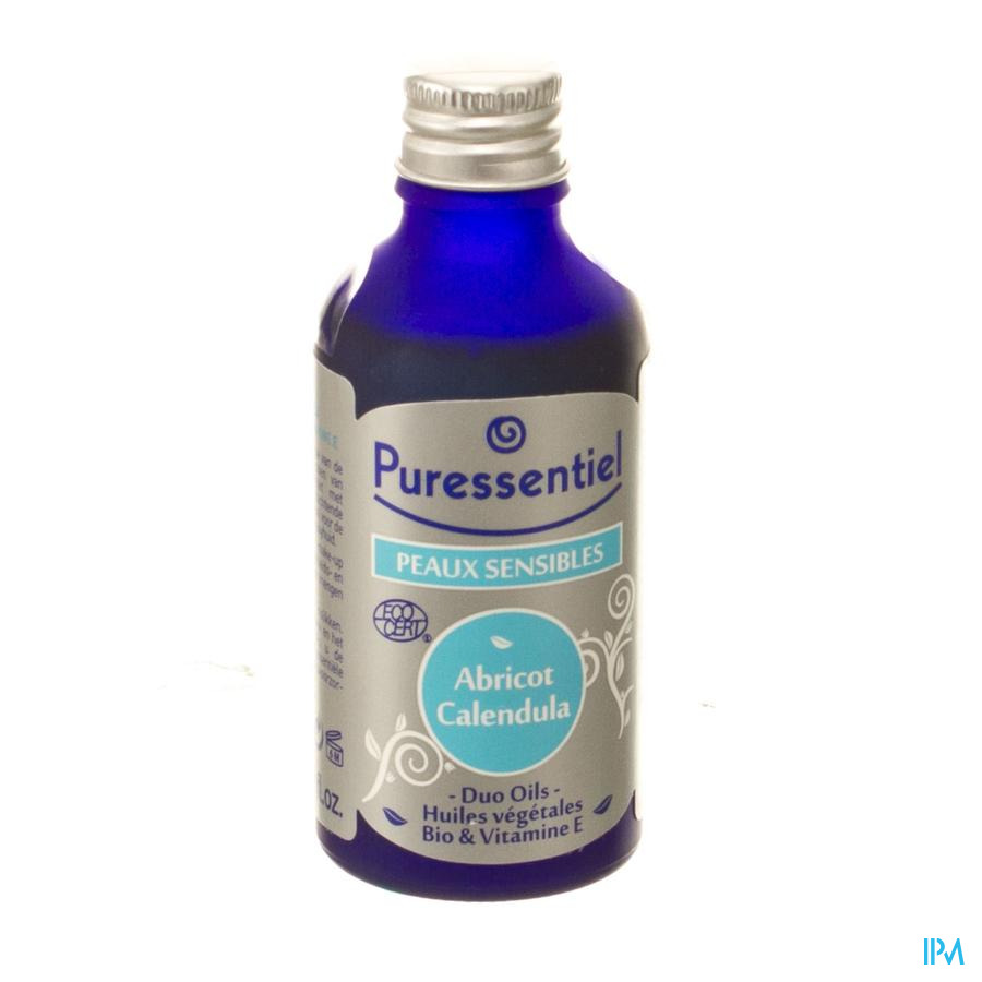 Puressentiel Duo Oil Abrikoos-calendula Bio 50ml