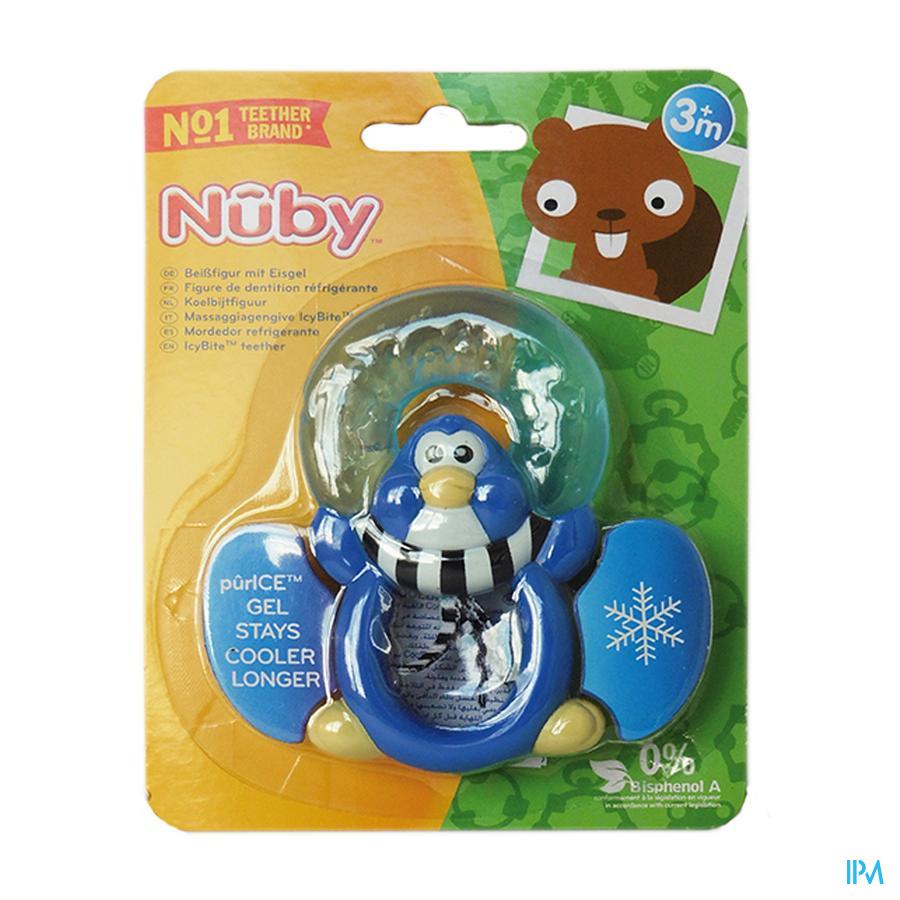 Nûby Koelbijtfiguur Pooldieren - 3m+