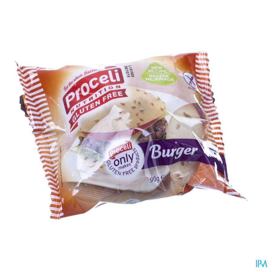 Proceli Hamburger Broodjes Rte 90g 4553