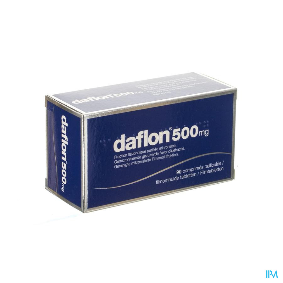 Daflon 500 Comp 90x500mg