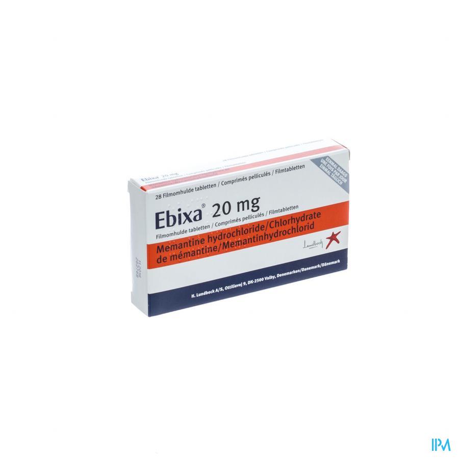 Ebixa 20mg Filmomh Tabl 28 X 20mg