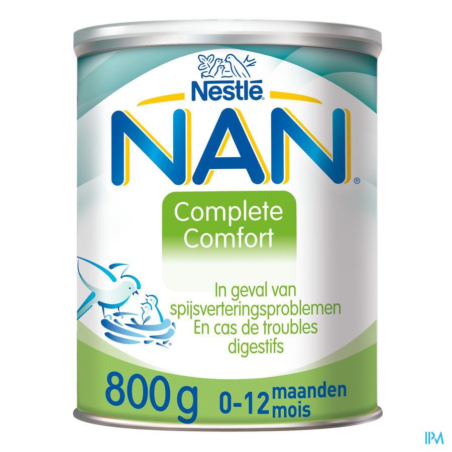 Nan Complete Comfort Lait Nourrisson Pdr 800g
