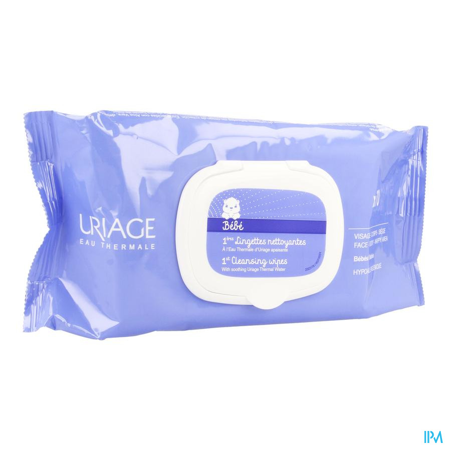 Uriage Bb 1ere Lingettes Nettoy. 70