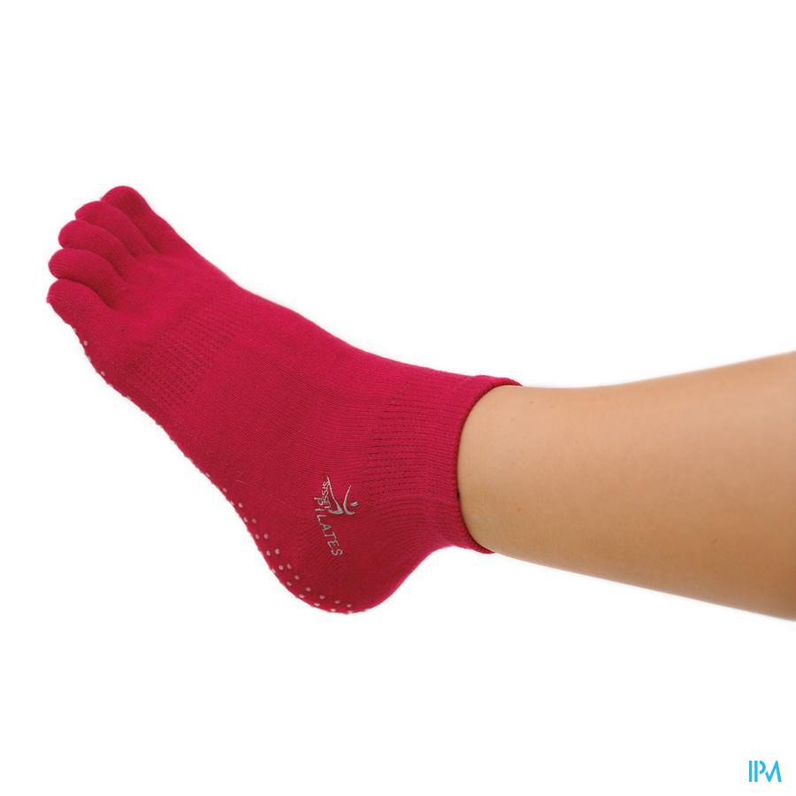 Sissel Pilates Sockx Soft Fuchsia S/m T35-39