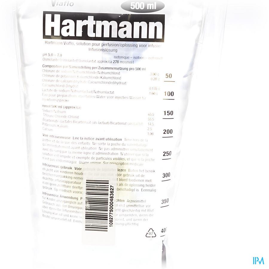 Bx Hartmann Viaflo 500ml