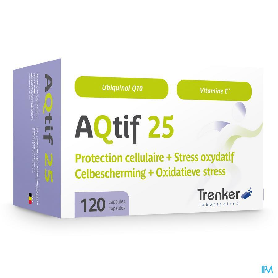 Aqtif 25 Caps 120