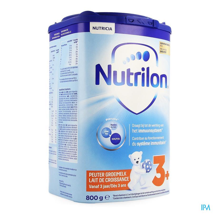 Nutrilon Lait Croissance +3ans Eazypack 800g