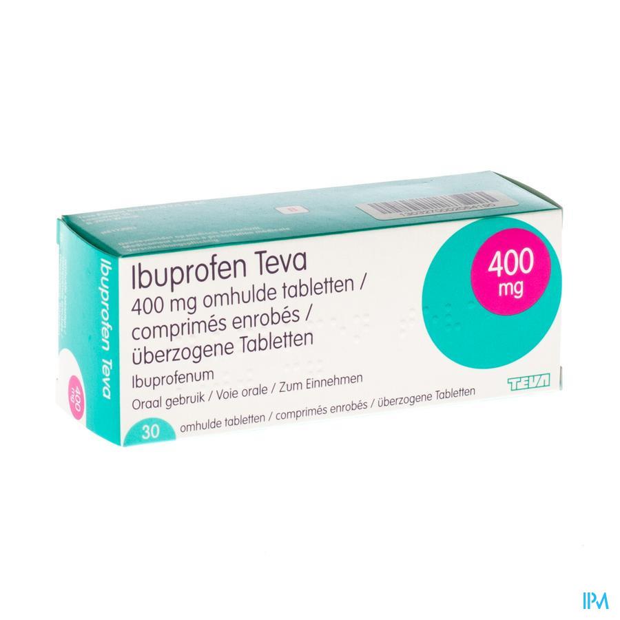 Ibuprofen Teva Dragee 30 X 400 mg