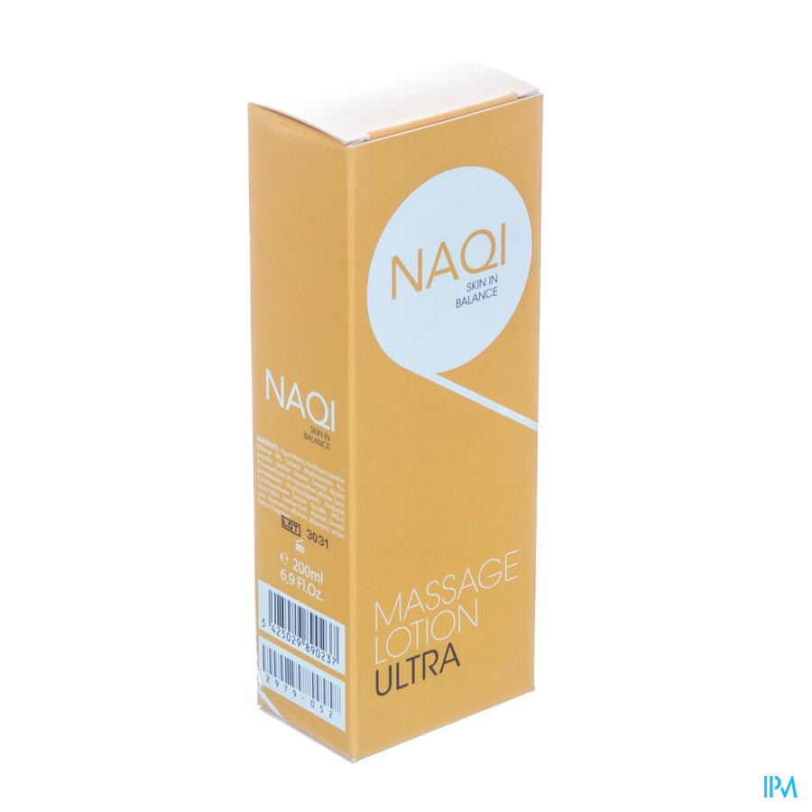 NAQI Massage Lotion Ultra 200ml