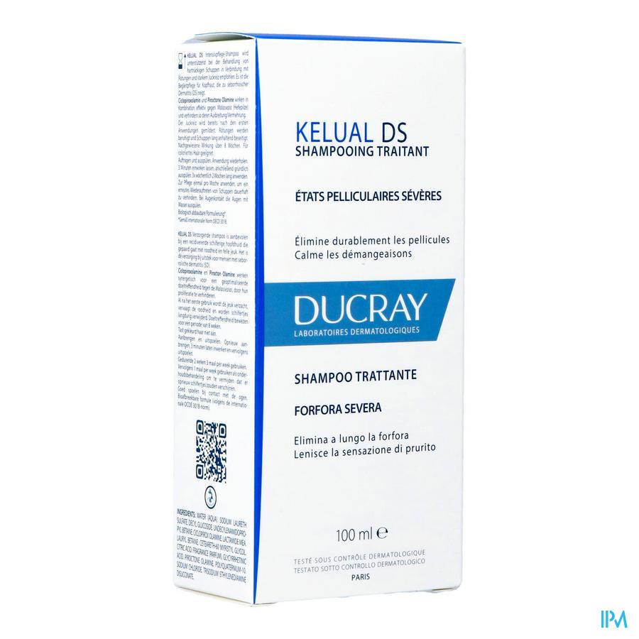 Ducray Kelual Ds Sh Traitant Pellicul.severe 100ml