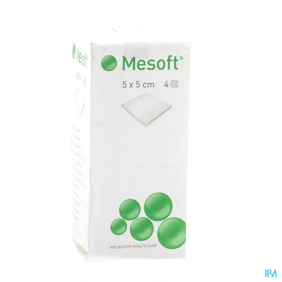 Mesoft S Kp N/st 4l 5,0x 5,0cm 100 157000