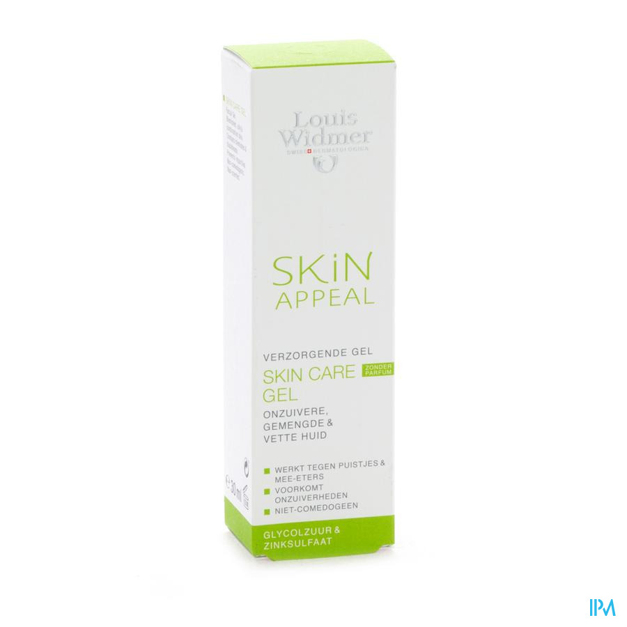 Widmer Skin Appeal Skin Care Gel Tube 30ml