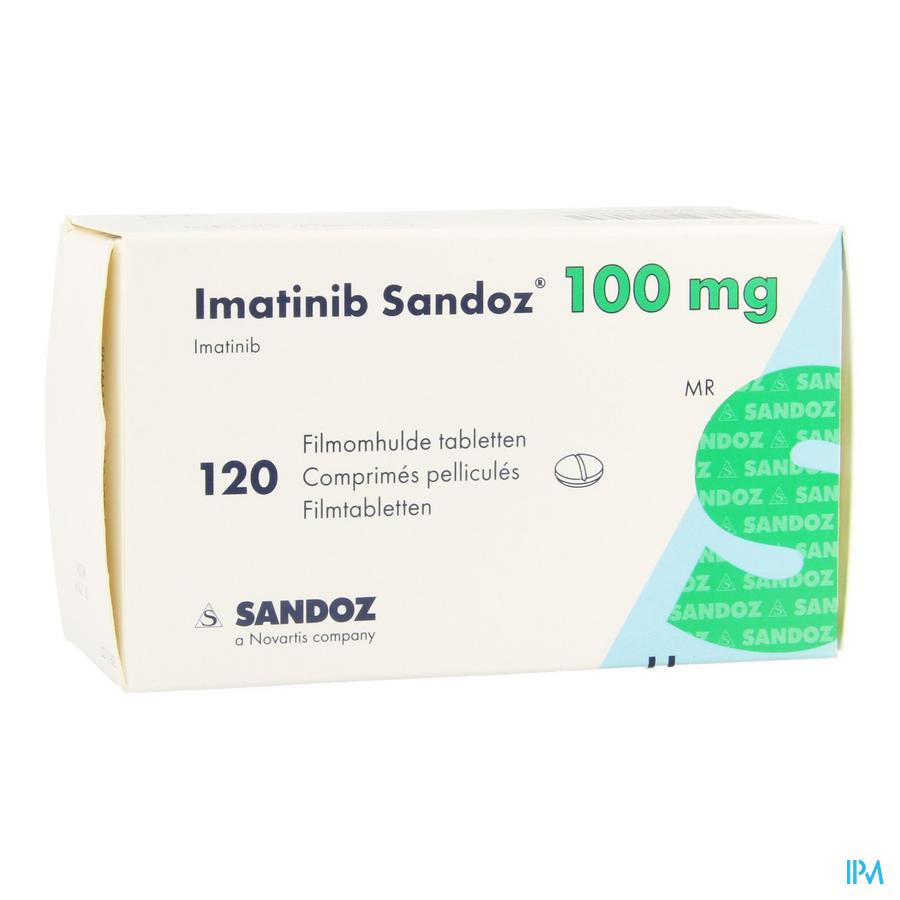 Imatinib Sandoz 100mg Filmomh Tabl 120 X 100mg