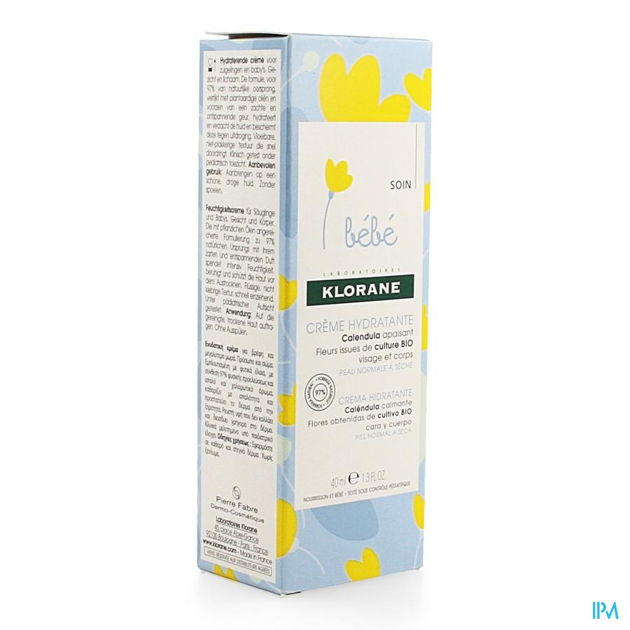 Klorane Bb Cr Hydratant 40ml